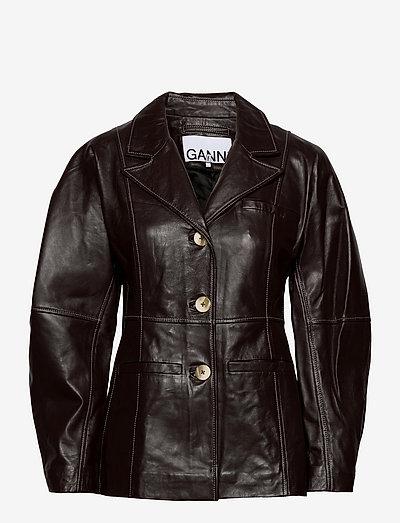 Lamb Leather - lederjacken - mole