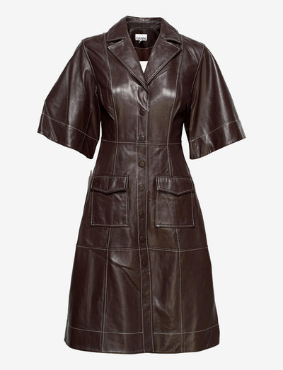 Lamb Leather - midi-kleider - mole