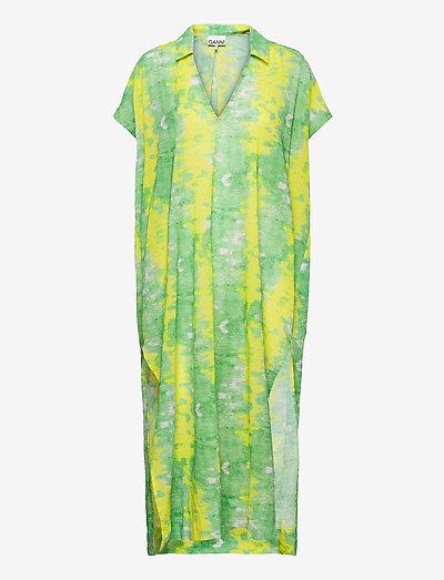 Light Cotton - maxi dresses - kelly green
