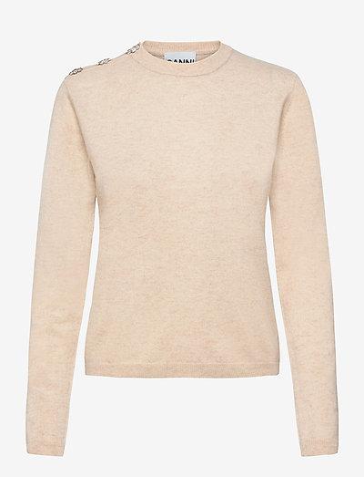 Cashmere Knit - trøjer - brazilian sand