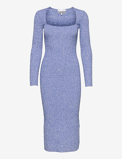 Melange Knit - midi dresses - daphne