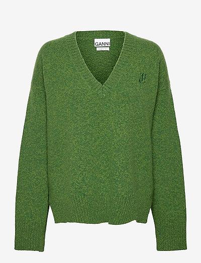 Wool Mix - sweaters - kelly green
