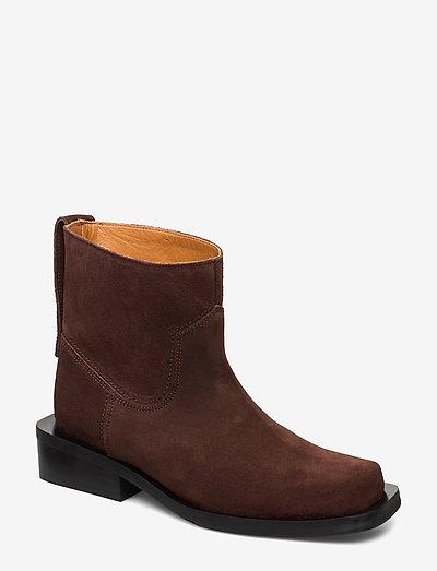 MC Low Boots - flade ankelstøvler - mole