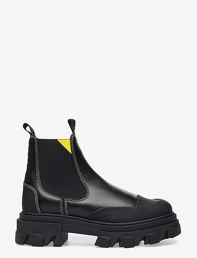 Calf Leather - buty - black