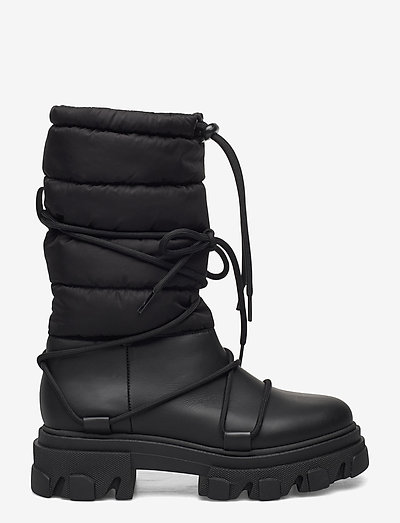 Working Boot - niski obcas - black