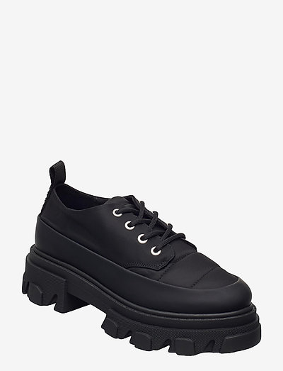 Nylon - chunky sneakers - black
