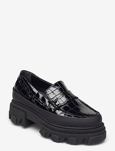 Belly Croc - loafers - black