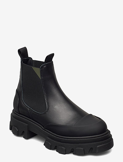 Calf Leather - sko - black
