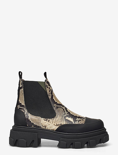 Embossed Snake - shoes - kalamata