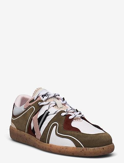 Sporty Mix - niedrige sneakers - kalamata