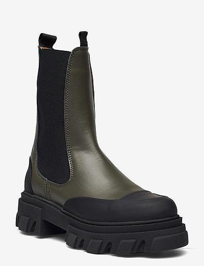 Mid Chelsea Boot - chelsea støvler - kalamata