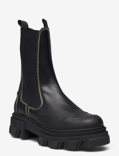 Calf Leather - sko - black
