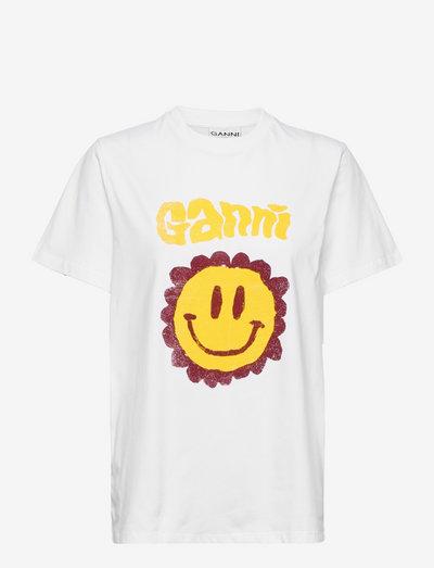 Basic Cotton Jersey - t-shirts - bright white
