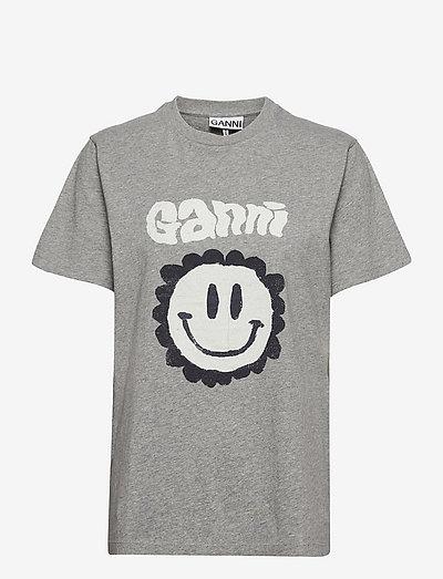 Basic Cotton Jersey - t-shirts - paloma melange