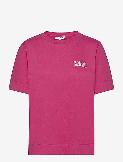 Thin Software Jersey - t-shirt & tops - shocking pink