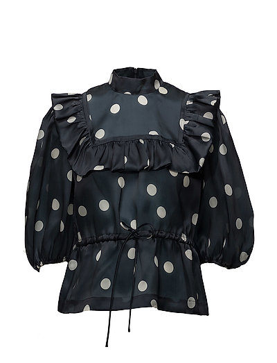 Seneca Silk Blouse - TOTAL ECLIPSE