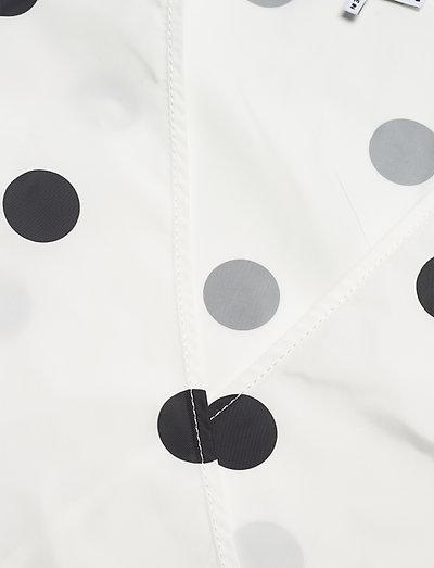 Ganni Recycled Polyester- Kleider Egret