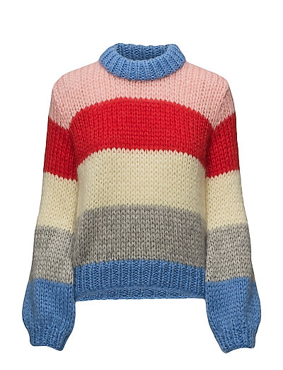 Hand Knit Wool - Block Colour