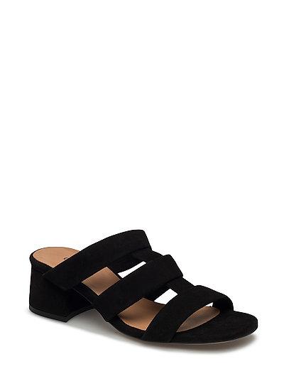Olive Sandals - BLACK