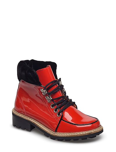 Freda Boots - BIG APPLE RED
