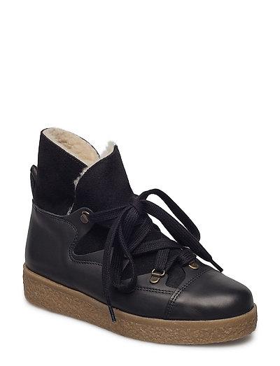 Masha Texas Boots - BLACK