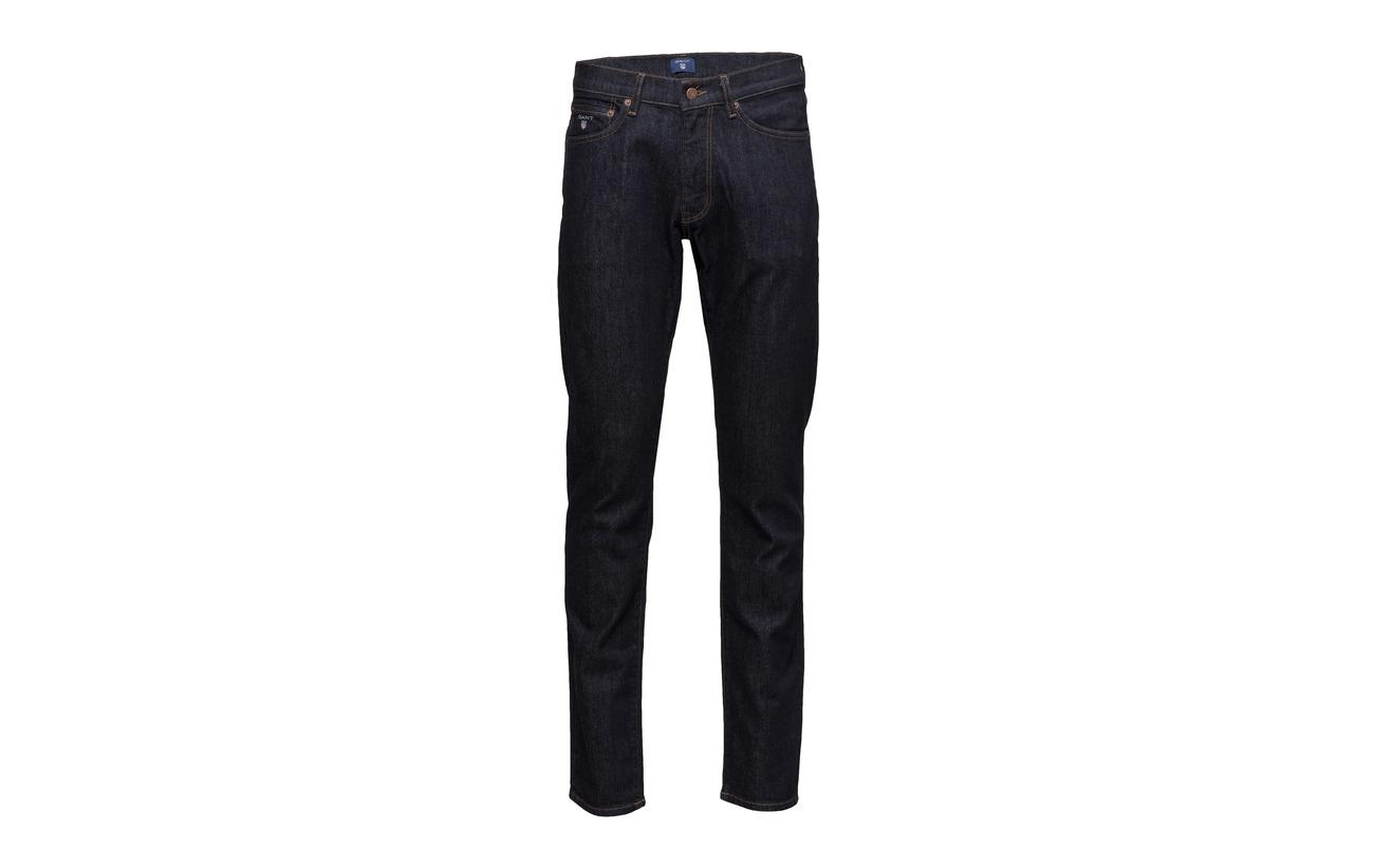 Worn Slim Gant Jeans In Black qwpRt