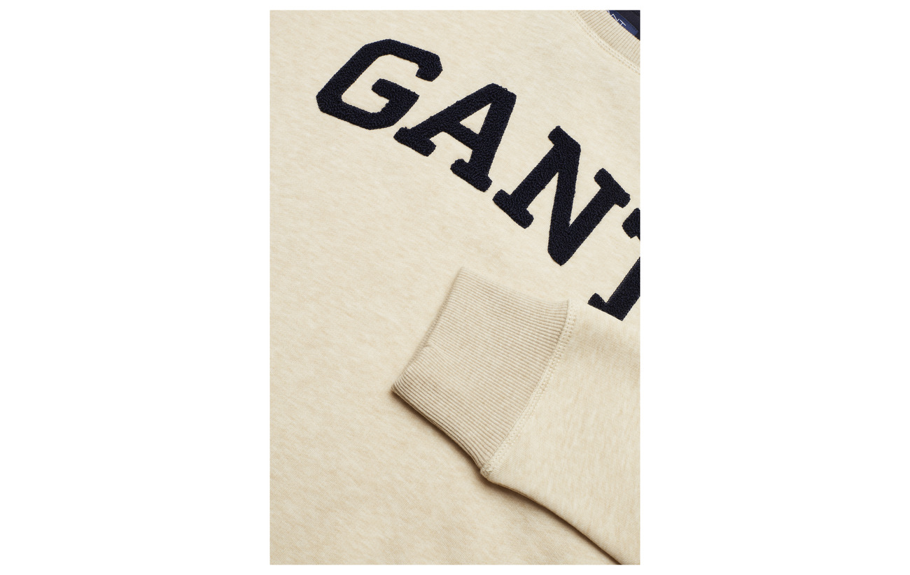 Manila neck Melange Sweat C Gift Giving Gant O3 wqYB77