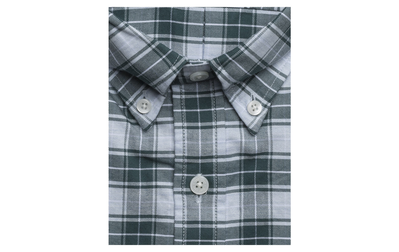 Plaid Bd Gant Persian Heather Op2 Blue Oxford Reg 4ffqtr