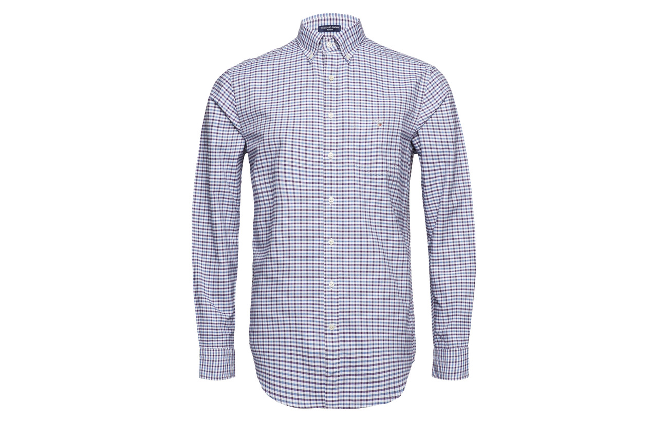 3 Bd Reg Grape Col Muscadine Oxford Gingham The Gant wqFExZW