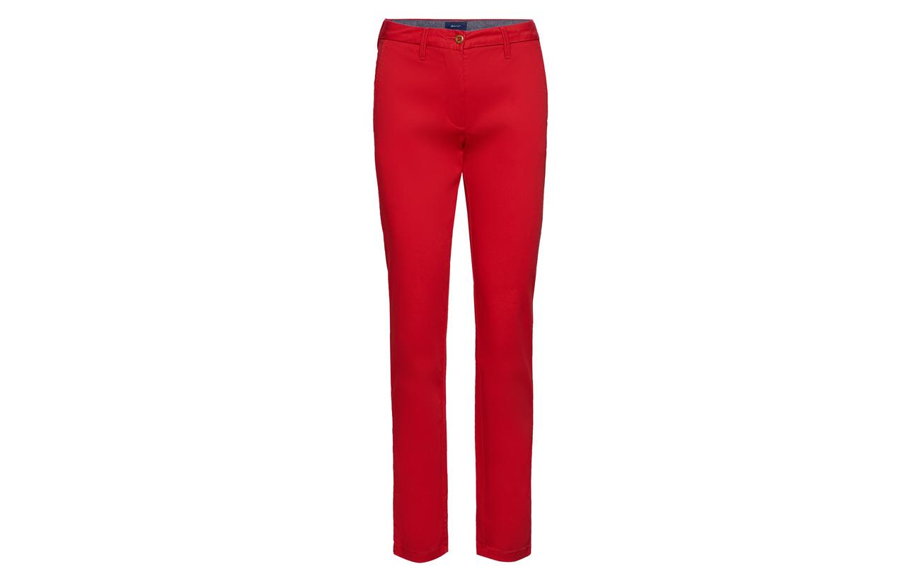 Slim Classic 98 Gant Coton 2 Red Chino Elastane S4wndBpqx