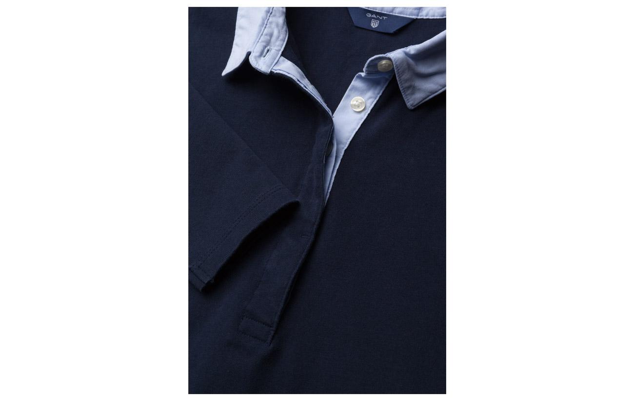 Evening Jersey Woven Mix O1 Blue Gant Coton 100 Heavy amp; Rugger Équipement Xw0Oftq