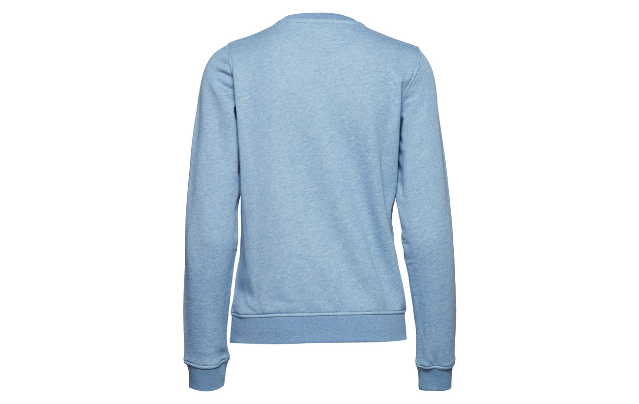 Sweat 10 Melange Polyester 90 Sky Logo Winter Coton Arch Gant O1 Hxnw1qv4tf