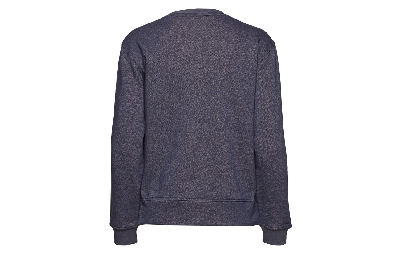 Marine Polyester C Backside Gant 90 Sweat O2 Coton 10 neck Contrast StzSnqY7w4