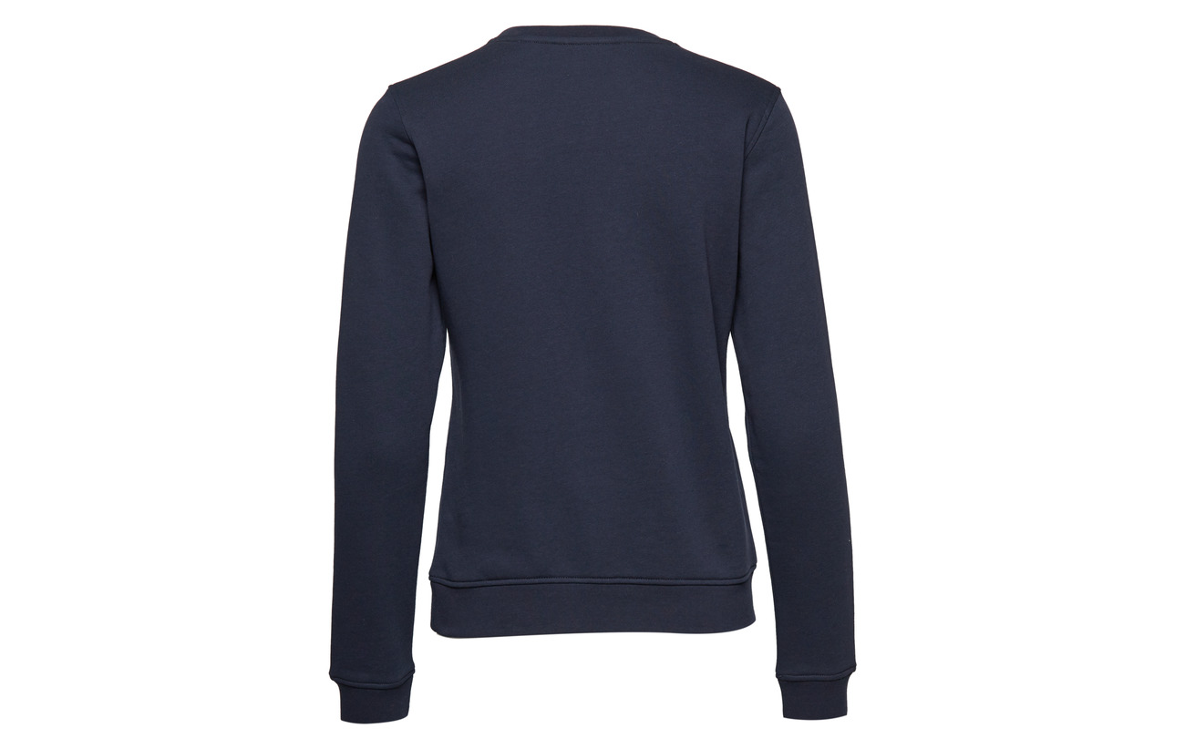 Evening Logo neck Gant 87 C Polyester 13 Blue Coton Sweat O2 tqXXwA5