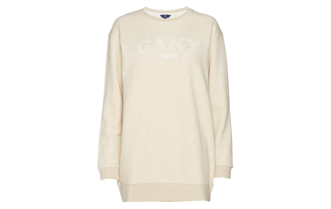 Logo Dress Evening C Coton 13 Gant neck Polyester Blue O2 87 w5XOXqI