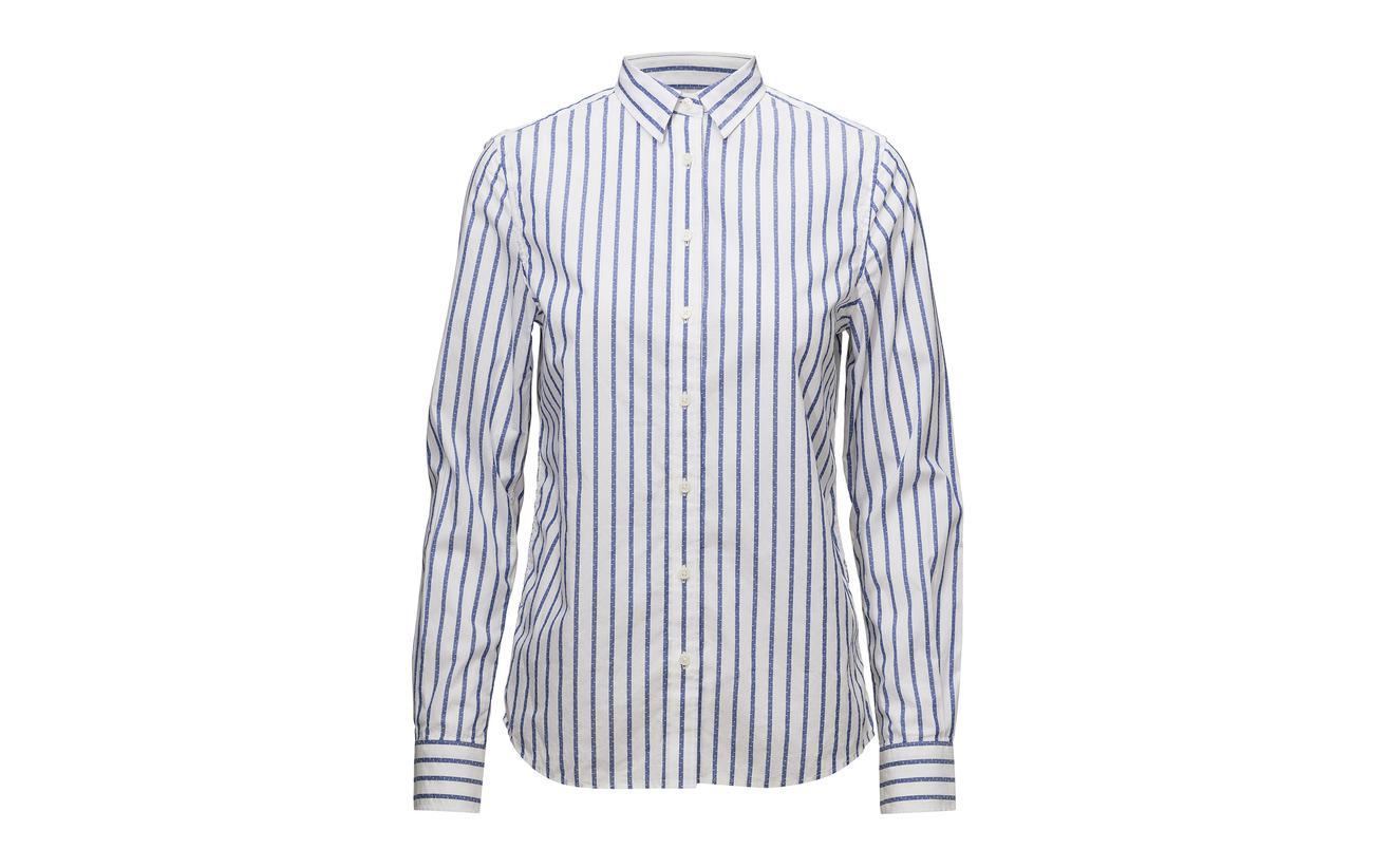 Coton Gant 25 Shirt Blue Yale Équipement Op2 Barr㉠Stripe Lyocell 75 tqqnw0frv
