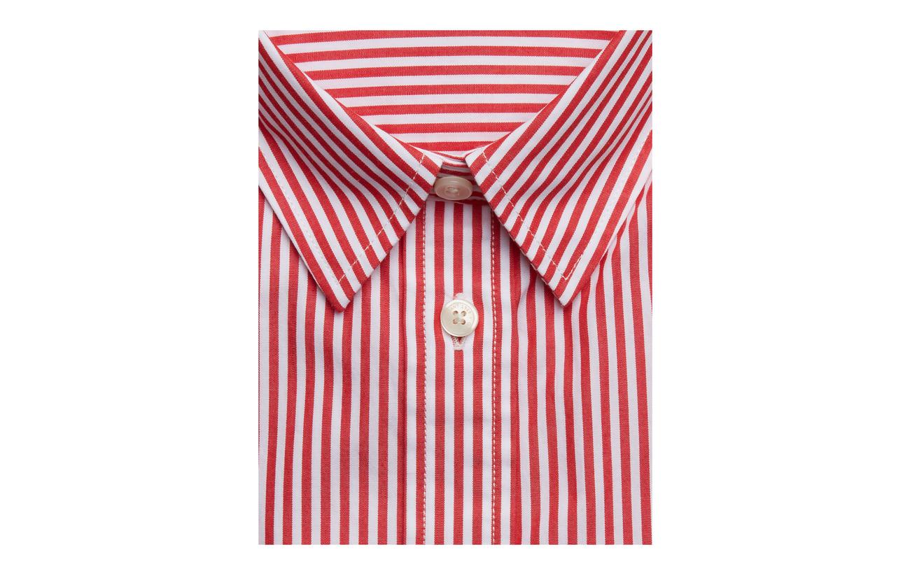 Gant Autumn Broadcloth Banker 100 Shirt The Coton Sunset rrpna
