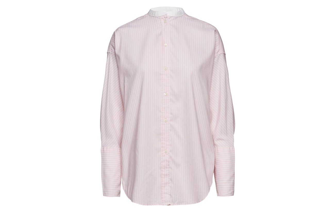 Pink 74 26 Polyester Shirt California Coton Gant Oversized O1 Tp Oxford 8OvnzwYAx