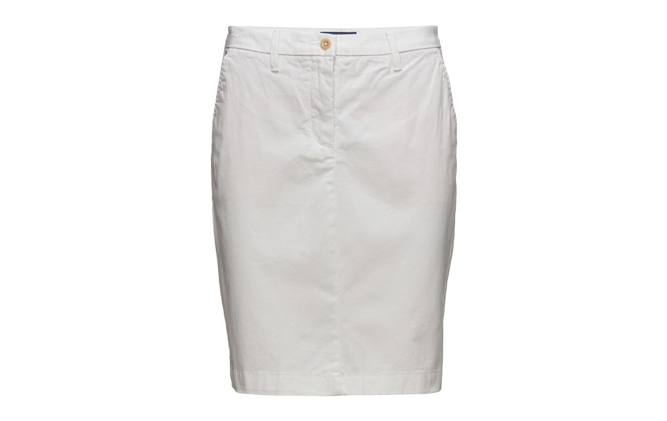 98 White Elastane 2 O1 Classic Équipement Chino Skirt Gant Coton TZHxqRwC