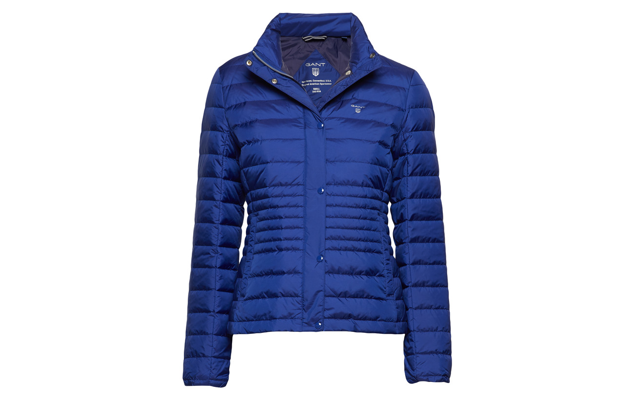 Blue Polyamide Jacket O1 Light 100 Down Evening Gant zHqZwn