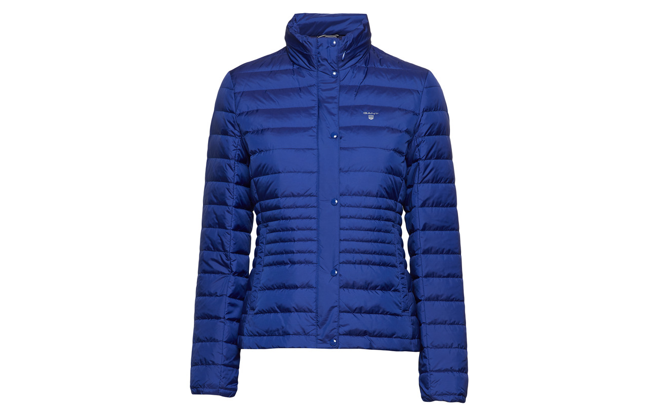 Light Polyamide Gant Jacket O1 Evening Down 100 Blue 8anqRU6w