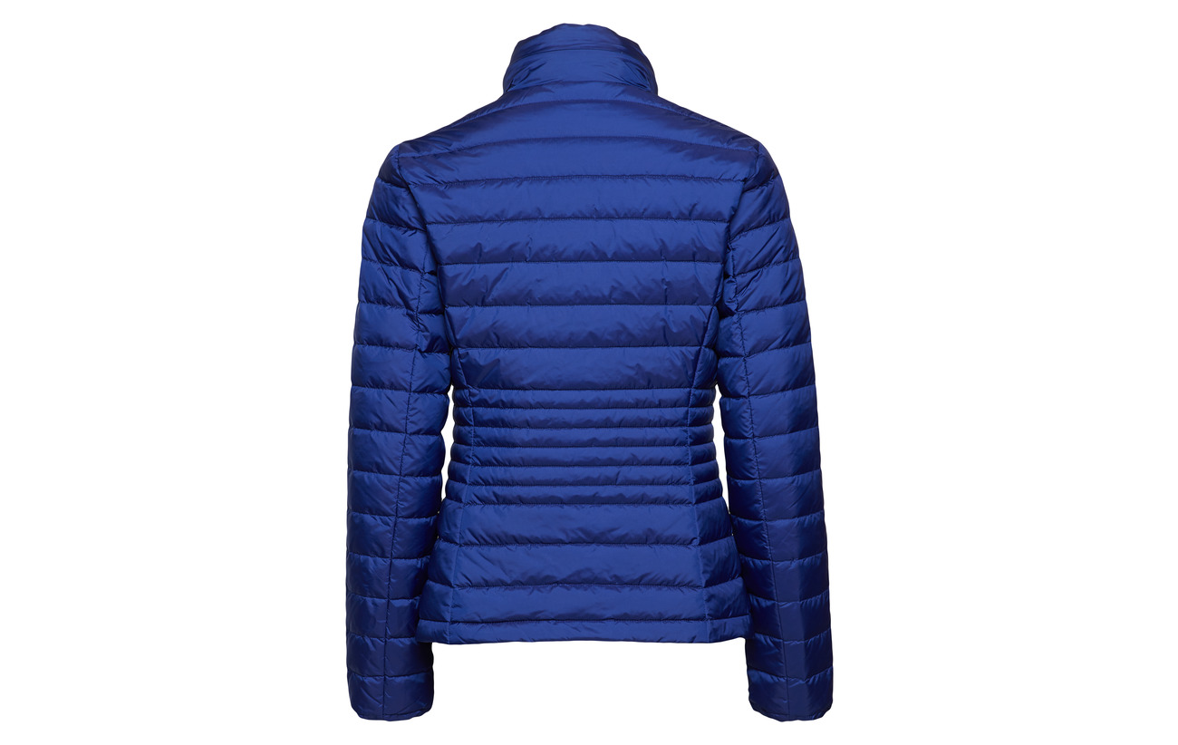 Down Light Jacket O1 College Gant Polyamide 100 Blue qEO7xtn