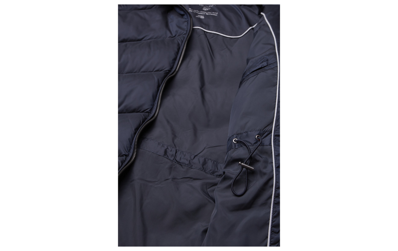 Down Long 100 O2 Classic Gant Navy Polyamide Jacket w7xgBfFq