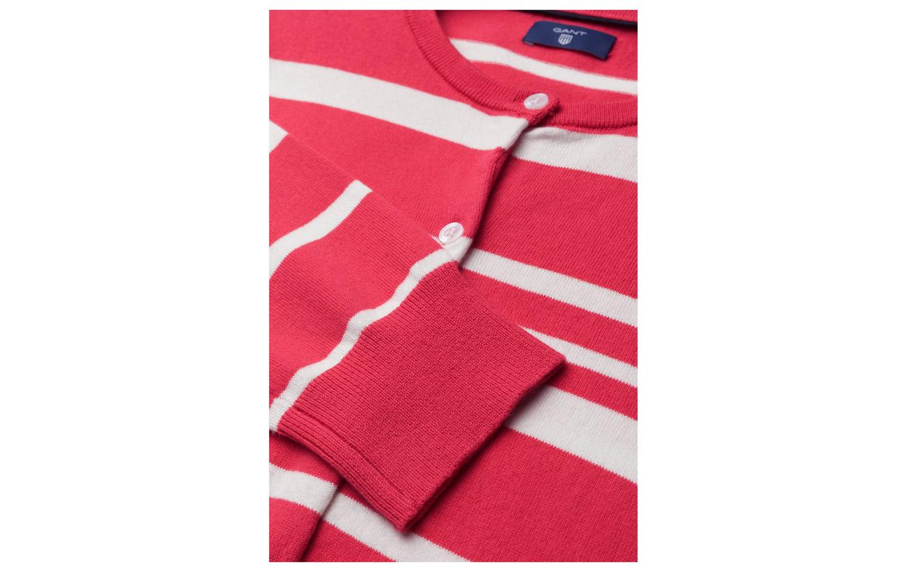 Coton Gant 19 Stripe Eggshell 78 Équipement Elastane 3 Breton O1 Cardigan Nylon FBBrywfYq