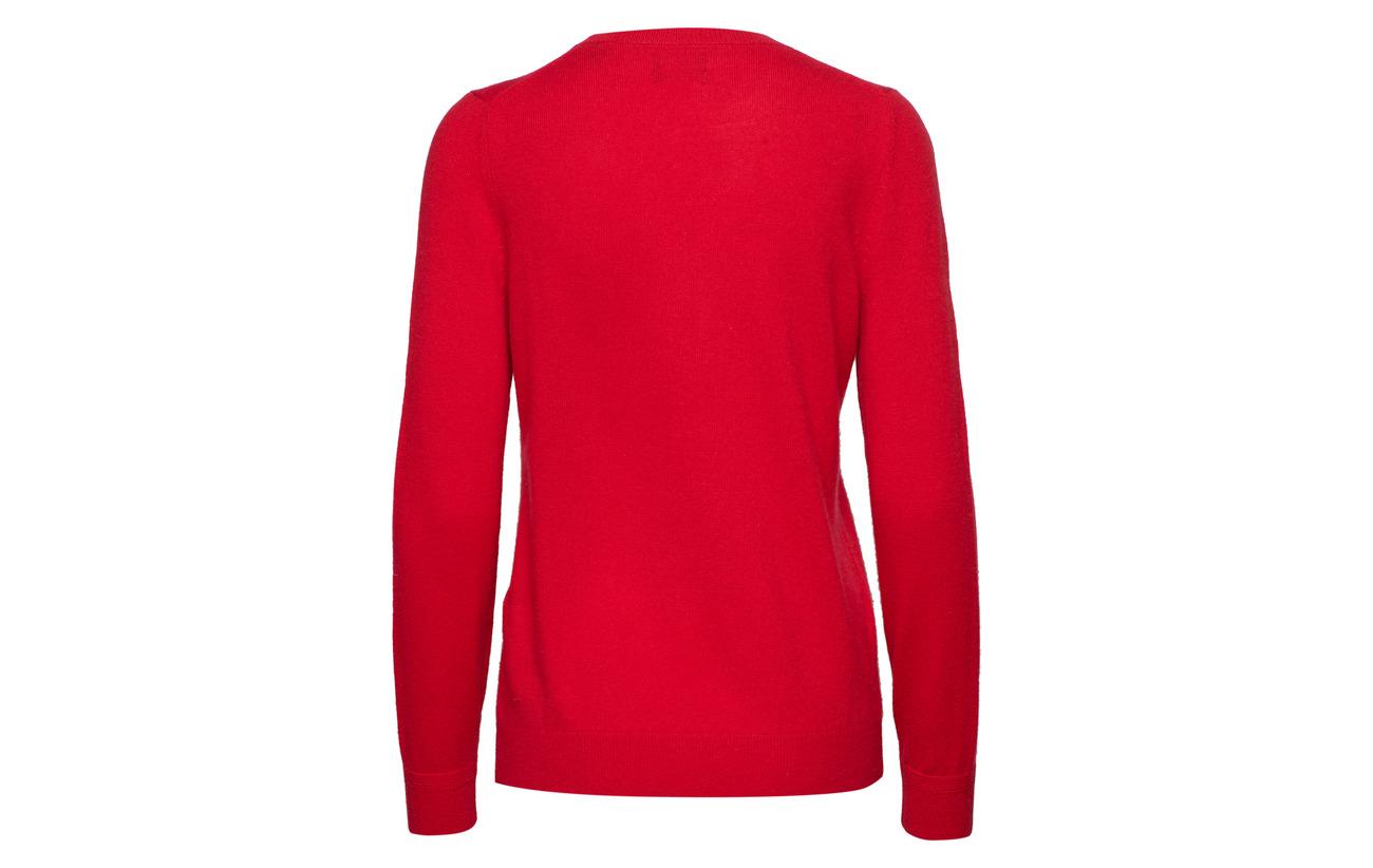 Laine Gant Bright 30 70 Crew Cashmere D2 merinowool Wool Red Cachemire 10qrw1OFA