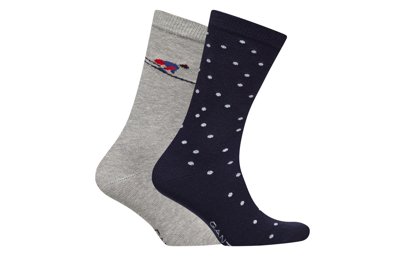 2 Ski Gift Coton Gant Elastane Polyamide O1 Box Après 80 Socks Marine 18 I1gEPqwg
