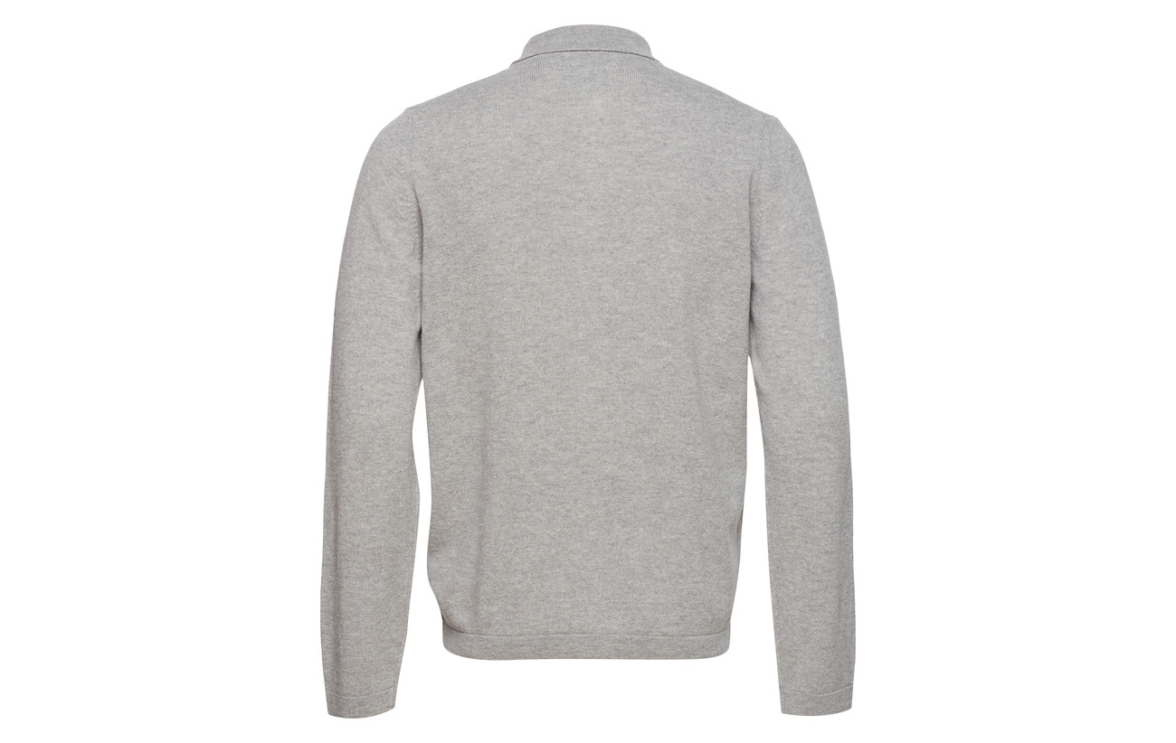 Poloshirt Marine Knitted O1 Gant Cardigan qn5PRwqC