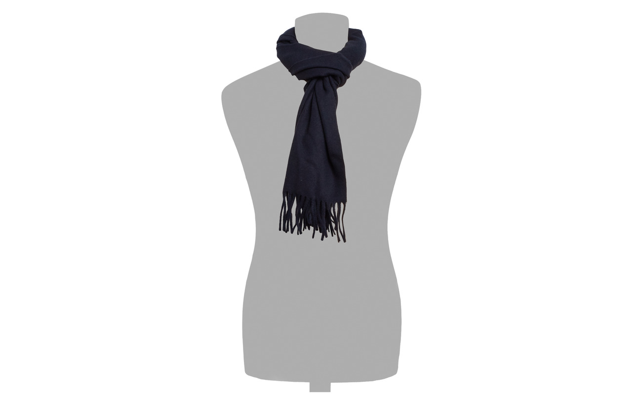 ScarfnavyGant Wool Solid ScarfnavyGant Wool Solid Solid UpzVMS