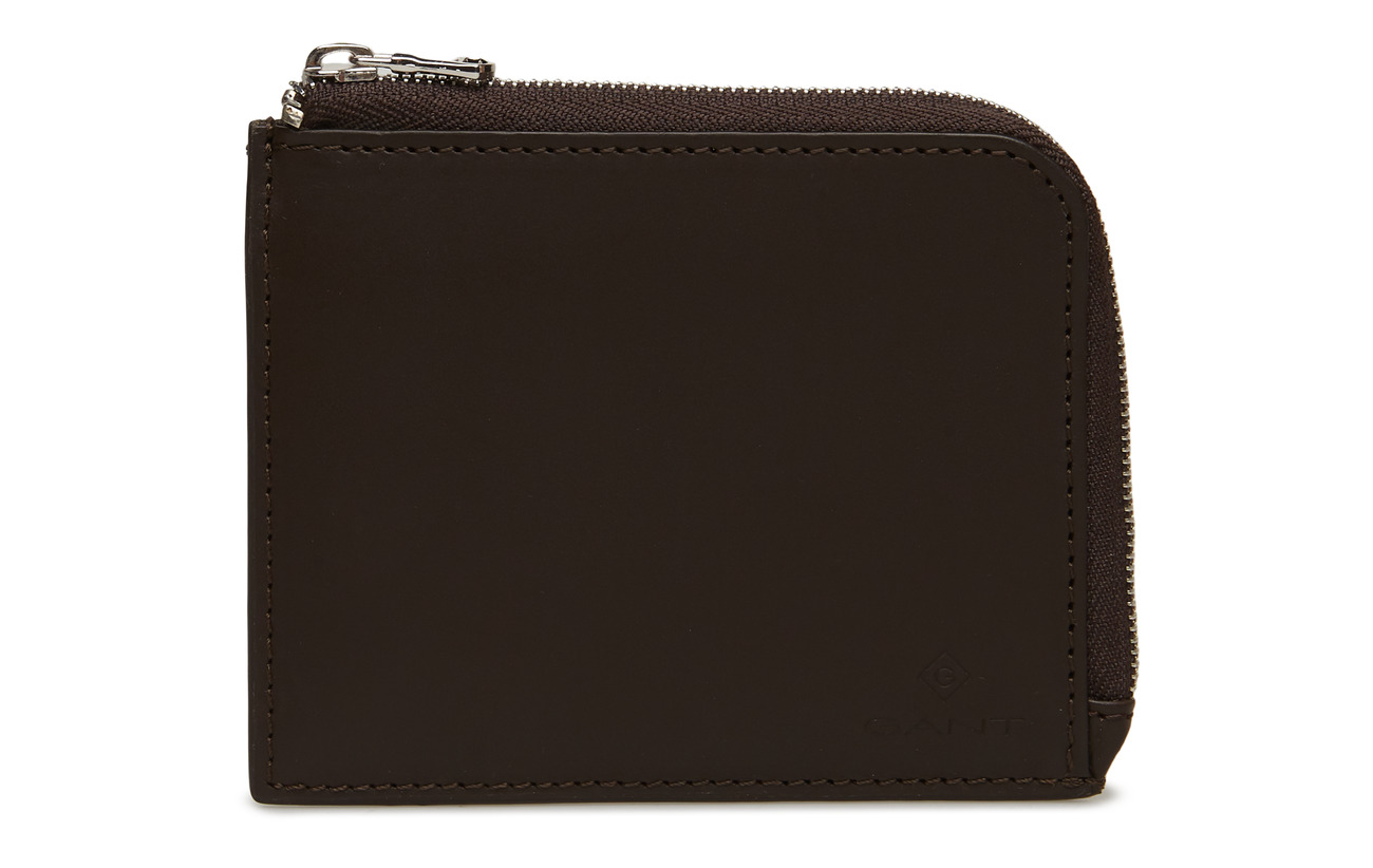 Leather Zip CoffeeGant Walletblack CoffeeGant Leather Zip Leather Zip Walletblack QxthsrdC
