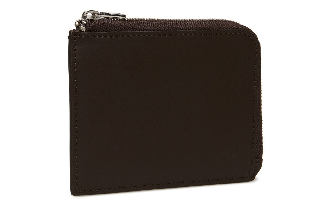 Zip Leather Zip Walletblack Leather CoffeeGant 1KFJTlc